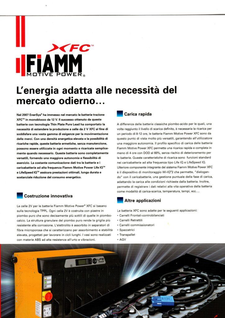 FIAMM Motive Power XFC